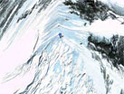Satellite map of Mt. Everest