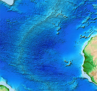 map of mid-atlantic ridge