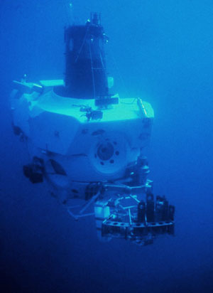 Photo of ALVIN submersible