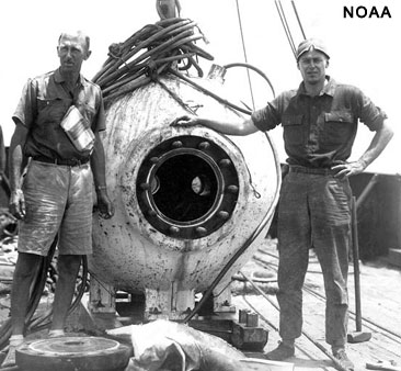 William Beebe and the bathysphere