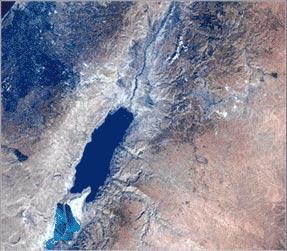 Lowest Elevation | Dead Sea on