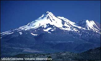 Picture of stratovolcano