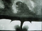 Oldest photo of a tornado, 1884